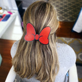 Minnie Solid Color Interchangeable Bow or Hair Clip