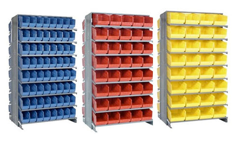 "6"" High Shelf Bin Sloped Shelving Systems"