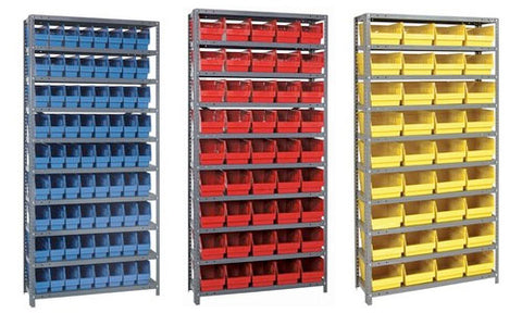 "6"" High Shelf Bin Steel Shelving Systems"
