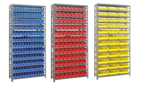 "4"" High Shelf Bin Steel Shelving Systems"