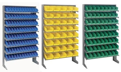 "4"" High Shelf Bin Sloped Shelving Systems"