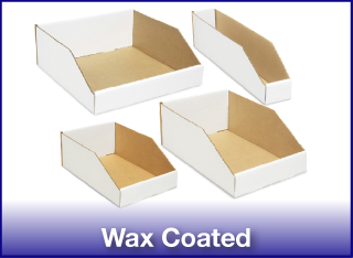 Wax Coated Bins