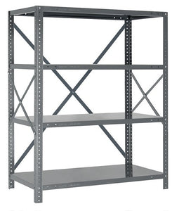 Steel Open Shelving - 22 Gauge 5 Shelves 18 x 36 x 39 (V22G-39-1836-5)