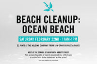 Santos Swim Saint Archer Ocean Beach Cleanup