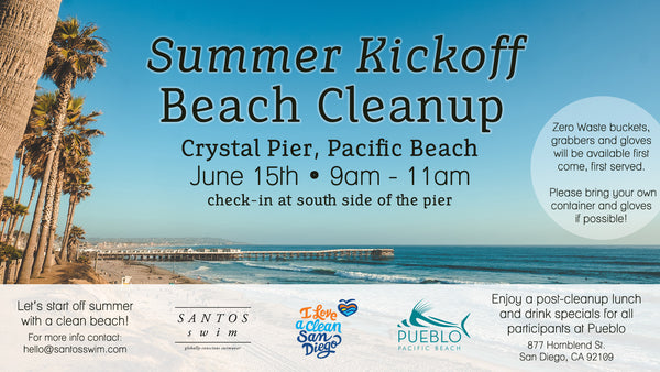 Summer Kickoff Beach Cleanup Flyer