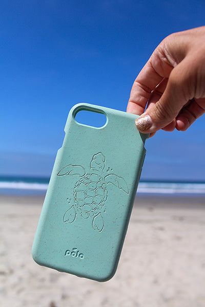 Pela Case Light Blue Sea Turtle
