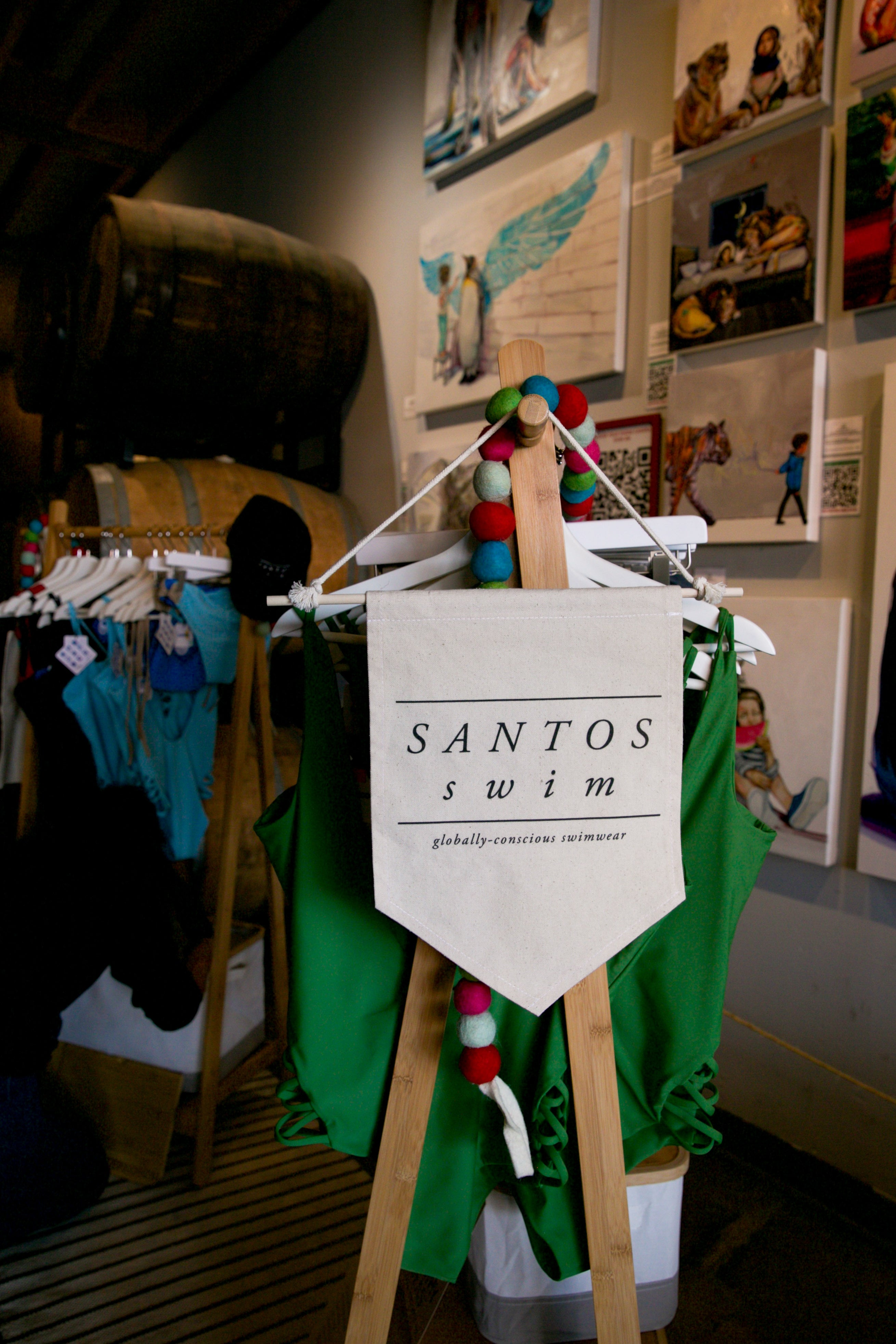Santos Swim Bikini Pop-Up San Diego CA