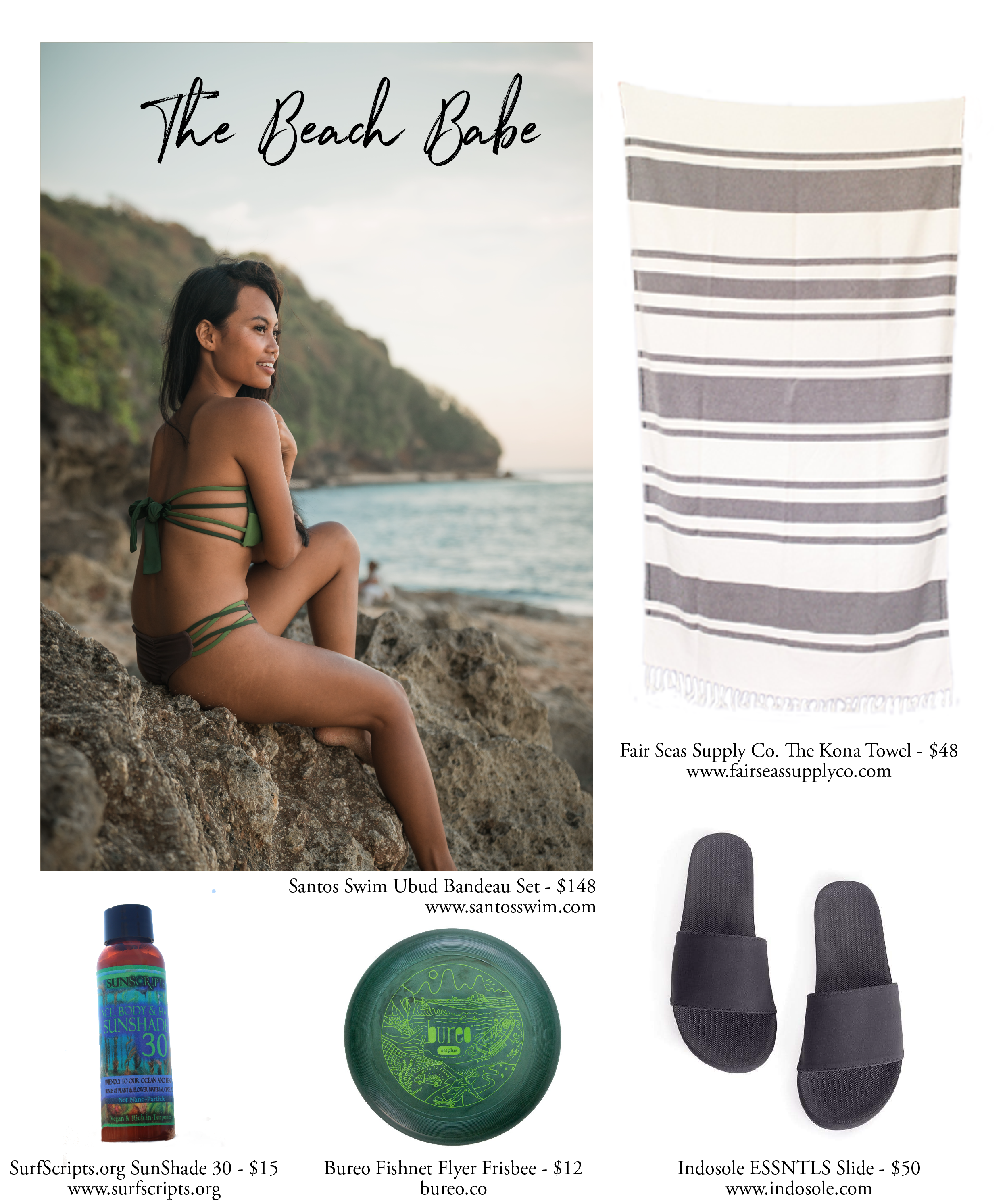 EcoFriendly Sustainable Gifts For Beach Babes