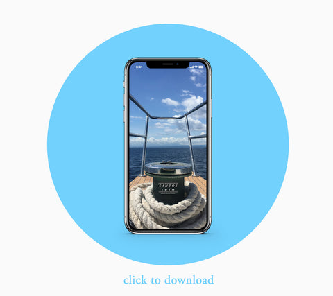 iPhone Boat Background Download Light Blue