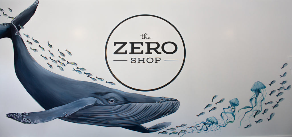 The Zero Shop Whale Mural by Mckella Jo