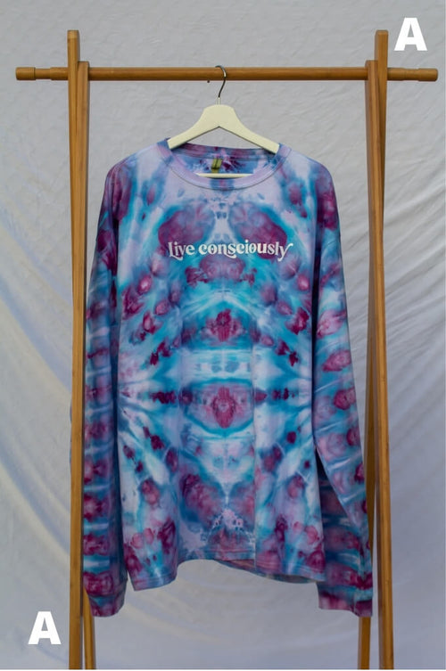 XXL Live Consciously Tie-Dye Long Sleeve