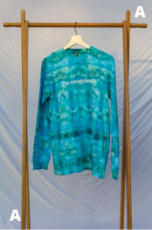 Small Live Consciously Tie-Dye Long Sleeve