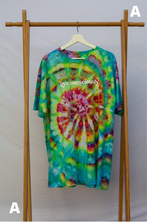 XL Live Consciously Tie-Dye Short Sleeve