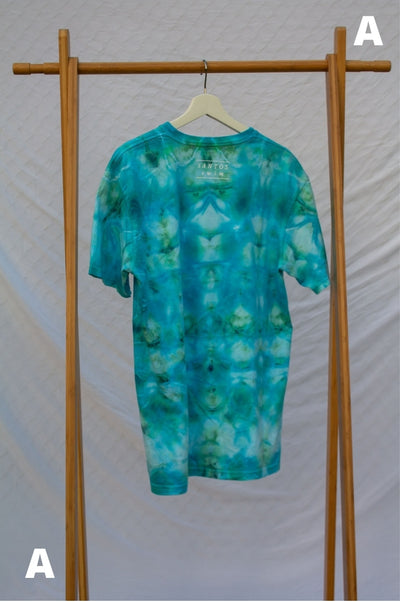 Large Live Consciously Tie-Dye Short Sleeve