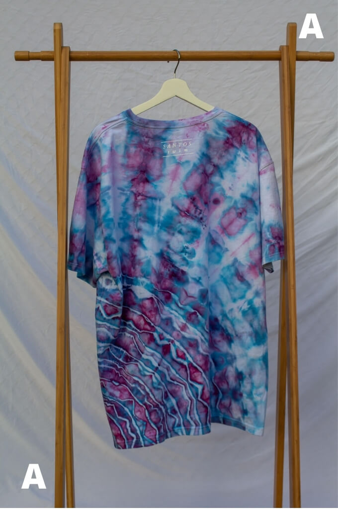XXL Live Consciously Tie-Dye Short Sleeve