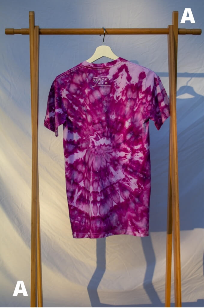Small Live Consciously Tie-Dye Short Sleeve