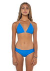 Canggu Sea Blue Solid Top Front