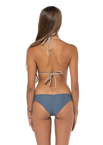 Canggu Reversible Bottom Stone Grey Back