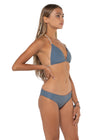 Canggu Reversible Triangle Top Grey Solid Side