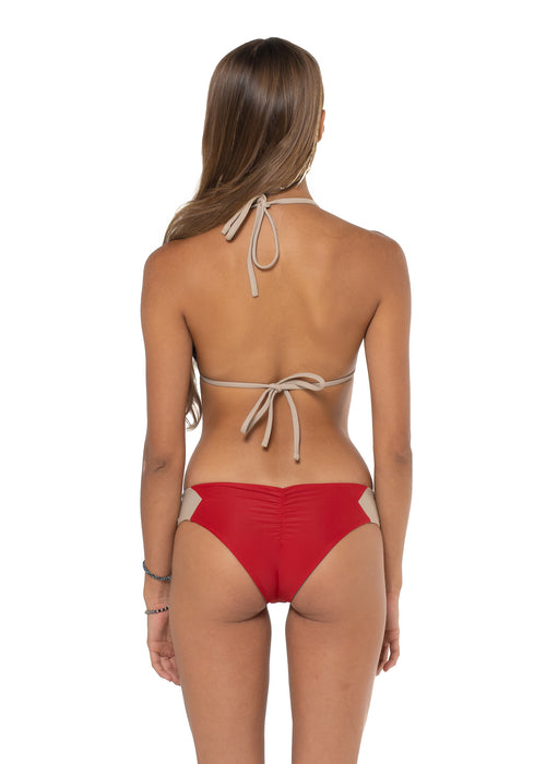Canggu Reversible Bottom Volcano Red Back
