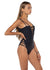 Santos Swim Seminyak Black One Piece Side View