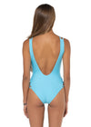 Seminyak One Piece Sky Blue Back