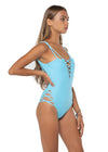 Seminyak One Piece Sky Blue Side