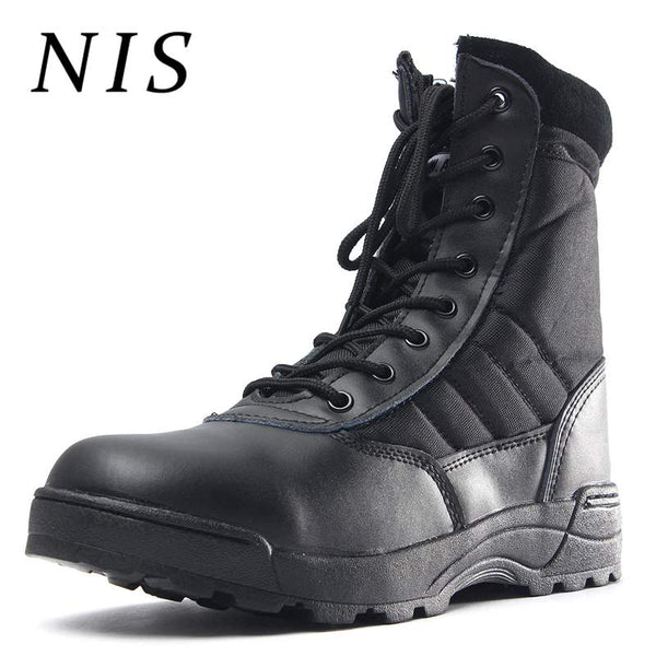 3cf4be93c31b9 NIS Classic Desert Tactical Boots Men Shoes Military Combat Boots Men  Lace-up High Top ...