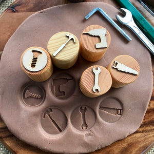 Tool Box Playdough Stamps