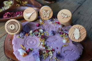Garden Playdough Stamps