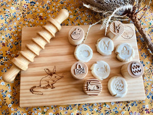 Easter Playdough Stamps - Australian Theme