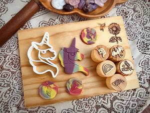 Fantasy Playdough Stamps