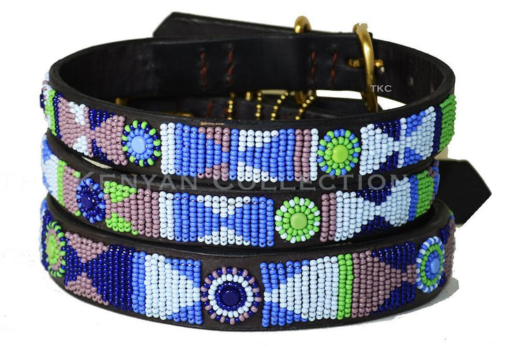 """Passion Flower"" Belt Wide Width - Horse Country Trading Company"