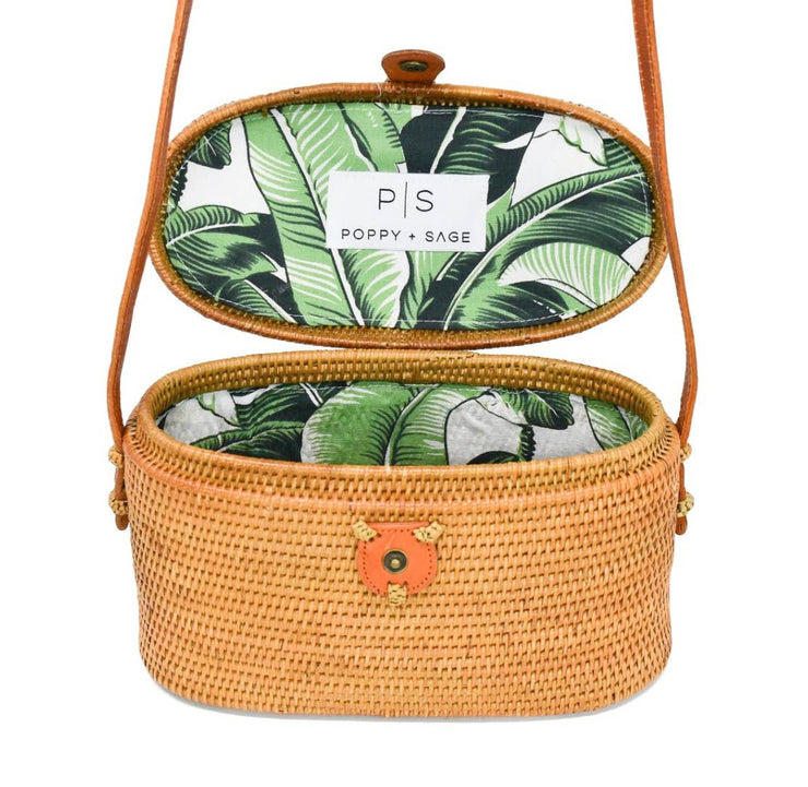 Luna Bag Palm Leaf - Horse Country Trading Company