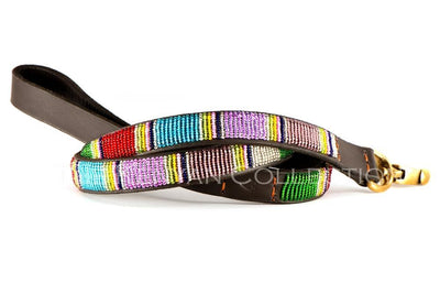 """Bijou"" Beaded Dog Lead - Horse Country Trading Company"