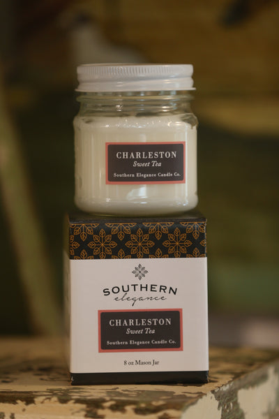 Mason Jar: Charleston * Sweet Tea - Horse Country Trading Company