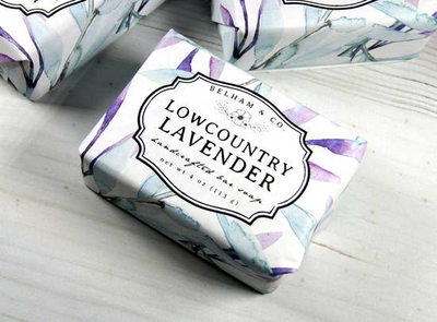 Lowcountry Lavender Soap - Horse Country Trading Company