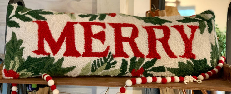 Merry Hook Pillow - Horse Country Trading Company