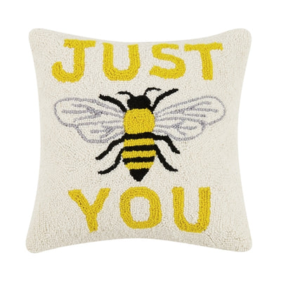 Just Bee You Hook Pillow - Horse Country Trading Company