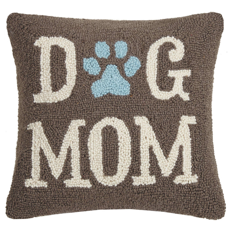 Dog Mom Hook Pillow - Horse Country Trading Company