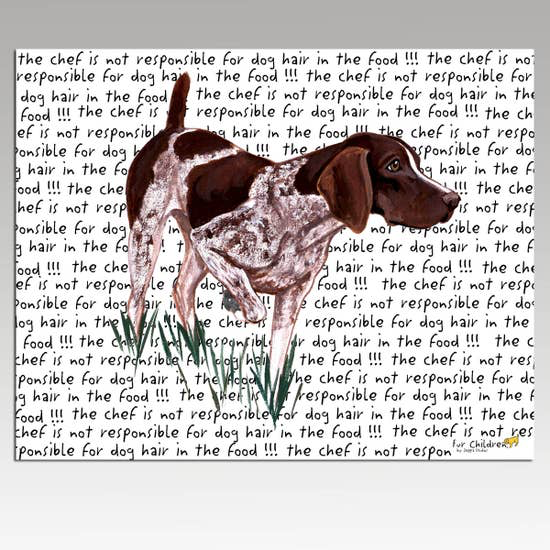 German Shorthaired Pointer Cutting Board - Horse Country Trading Company
