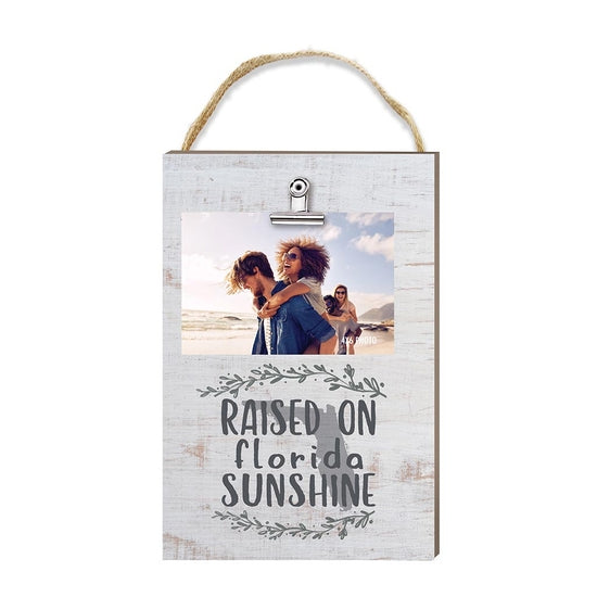 Raised on Florida Sunshine Hanging Clip Picture Frame - Horse Country Trading Company