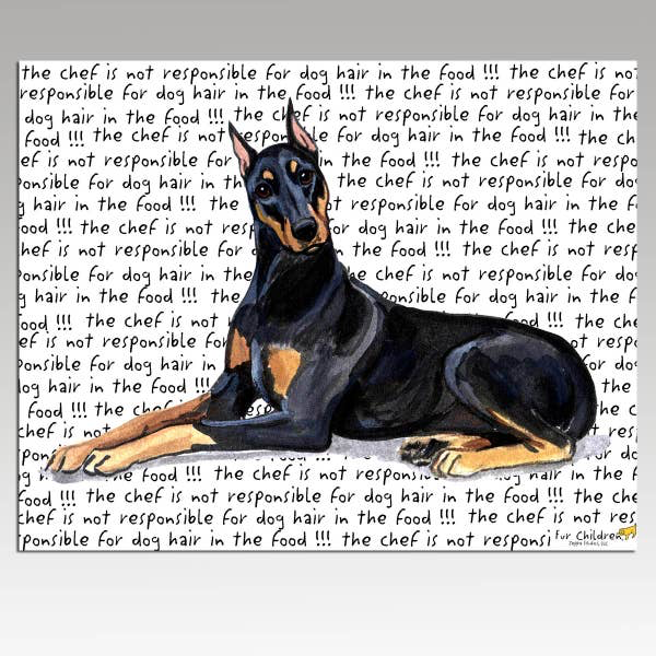 Doberman Pinscher Cutting Board - Horse Country Trading Company