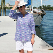 Ellie Navy Tunic - Horse Country Trading Company