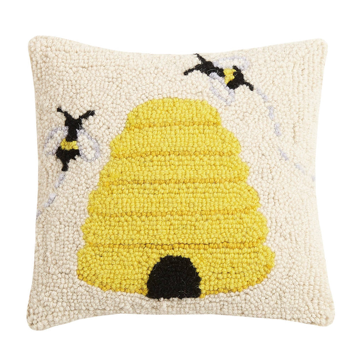Bee Hive Hook Pillow - Horse Country Trading Company