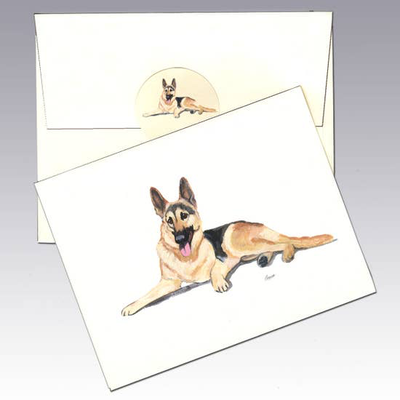 German Shepherd Note Cards - Horse Country Trading Company