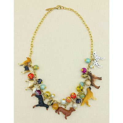 Must Love Dogs Long Necklace - Horse Country Trading Company
