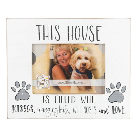 Kisses, Wagging Tails, Wet Noses Picture Frame - Horse Country Trading Company