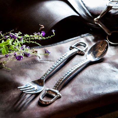 Equestrian Salad Servers - Horse Country Trading Company