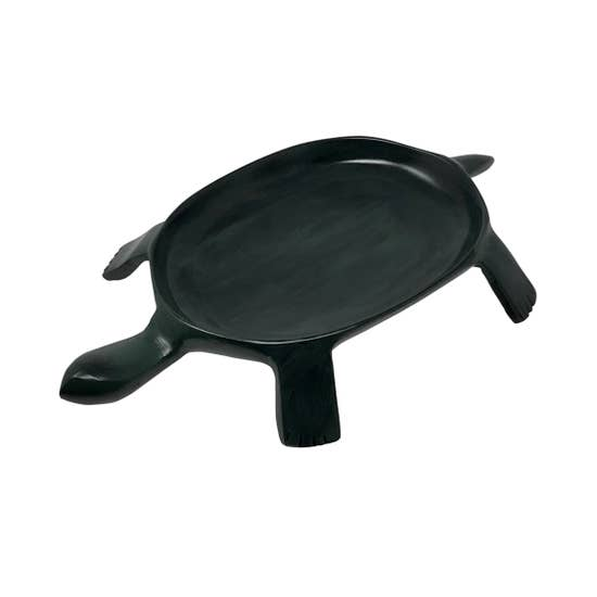 Cast Aluminum Turtle Serving Platter - Horse Country Trading Company